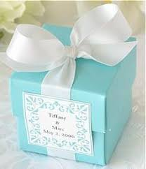 gift boxes for wedding favors. ideas for a breakfast at tiffany\u0027s bridal shower gift boxes wedding favors