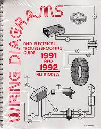 1991 1992 harley wiring diagram schematic electrical troubleshooting