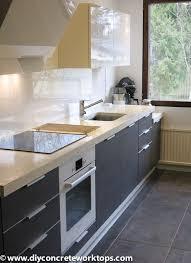 Concrete Sink Diy Concrete Countertop Undermount Sink Installation Diy Concrete