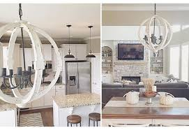 fabulous white wood orb chandelier chandeliers