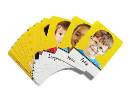 Spanish Feelings Chart Spanish Second Step Early Learning Feelings Cards
