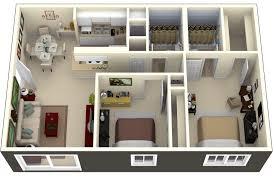 image of unique 2 bedroom house plans design