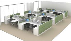 modern office design layout. Modern Wooden Chinese Manufacturer H Shape Office Workstation Design Layout System(SZ-WSA101) L