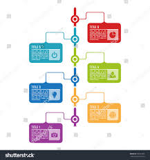 Infographic Timeline Template Can Be Used Stock Vector 500321056 ...
