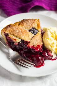 cherry pie slice with ice cream. Modren Pie Slice Of Homemade Cherry Pie On A Small White Plate With Scoop Ice  Cream In Cherry Pie With Ice Cream L