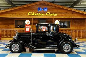 1931 Chevrolet 5 Window Coupe – Black – A&E Classic Cars