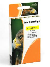 <b>Картридж</b> для Canon CLI-451Y XL желтый <b>повышенной емкости</b> ...