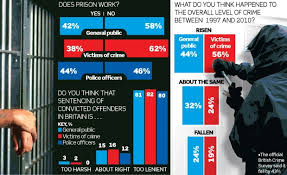 prisons must be tougher says survey telegraph graphic showing results from coalition s crime and prison survey