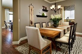 ... Clever Design Dining Room Table Decor 5 Simple With Floral Centerpiece  And Metal Chandelier ...