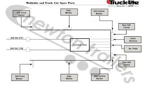 truck lite wiring diagram wiring diagram and schematic design ponent 12v flasher thesamba split bus view topic plow lights meyer diamond truck lite harness 80830 07974