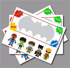 superheroes birthday party invitations 20 pcs lot personalised superhero birthday party invitations baby