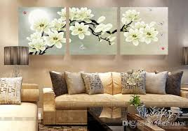 3 piece metal wall decor pictures, brenner hold the latest metal wall art products on most stuff even big lots shop intricate circle metal wall dcor set free shipping on. 2021 Wall Art Set Modern Picture Abstract Oil Painting Wall Decor Canvas Pictures For Living Room White Magnolia From Zhizihuakai 24 48 Dhgate Com