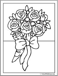 Flower Coloring Pages Pdf Download Jokingartcom Flower Coloring