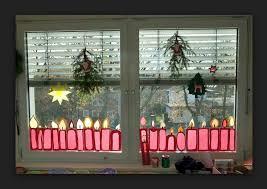 Häuser Sterne Fensterdeko Weihnachten Basteln