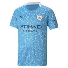 Puma Manchester City FC Heimtrikot 20/21 Junior Blau, Goalinn
