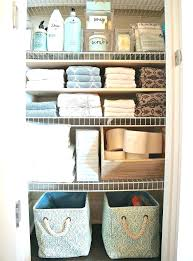 bathroom closet organization ideas. Plain Bathroom How To Organize A Linen Closet Towel Organization Ideas Tips And  Tricks For Organizing With Bathroom Closet Organization Ideas