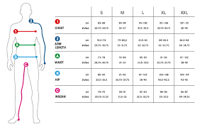 Dress Size Chart Mens 36 Efficient Jacket Size Chart For Men