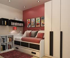 Modern Teenage Bedroom Furniture Bedroom Exciting White Boys Room With Loft Bed And Decorative