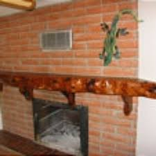 custom made mesquite fireplace mantel by m m millwork custommade