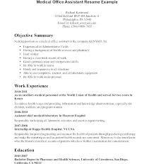 Sample Resume For Medical Office Manager Resume Job Descriptions Office Manager Description Template
