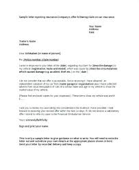 Claim Letters 6 Insurance Denial Letter Template Life Within Appeal Sample