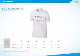 Brooks Size Chart Brooks T Shirt Size Chart Wilcube