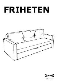 ikea friheten sofa bed dimensions three seat sofa bed dark grey united kingdom pedia ikea friheten