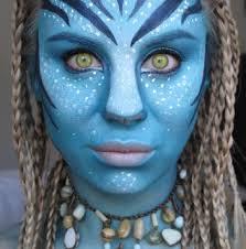 get ations avatar makeup set set includes 1x blue face paint 1x black eyeliner