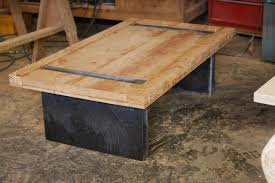 ... Coffee Table, Fascinating Teak Rectangle Industrial Wood Coffee Table  Idea: Brilliant Industrial Coffee Table ...