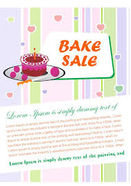 Bake Sale Flyer Templates Free Engaging Free Bake Sale Flyer Templates For Fundraising