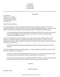 Brilliant Ideas of How To Write A Letter Job Interest Sample With Additional Free
