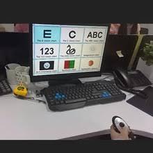 Cp 27b Multifunction Eye Chart E Vision Visual Chart