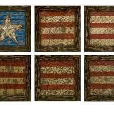 american flag wall decor vintage hobby lobby rustic