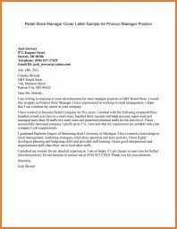 Gallery Of Product Manager Cover Letter Sop Proposal Sample Cover