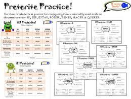 Querer Verb Chart Preterite Practice Ir Ser Estar Poder Tener Hacer Querer