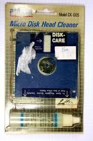 Car Boot Sale Stuff Floppy Disk Cleaning Kit John