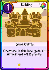 Sand Card Sand Castle Card Wars Wiki Fandom Powered By Wikia