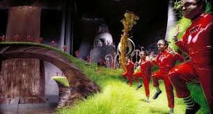 most magnificent chocolate factory in the world is hyperreal in this movie creates expectation where people are more likely to absorb it as real and not as imaginary similarly disneyland world has also been