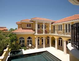 Sater Group's Villoresi Custom Home Design Mediterranean Custom Miami Home Design Exterior