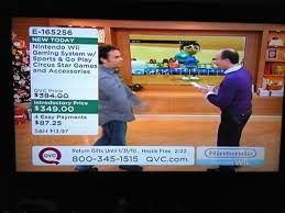 tv qvc. i think we\u0027ve learned something today: not to buy stuff off the tv. qvc was selling, last night, a nintendo wii, go play circus star games, and bunch of tv qvc