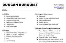 skills to list on resume