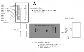 athena access control setup this diagram depicts the proper wiring of the br 100 external relay for use an electronic door strike the br 100 external relay is intended for those