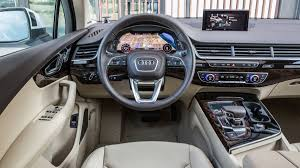 1 of 7the 2017 audi q7 has seating for seven with 14 8 cubic feet of luge capacity behind the back row