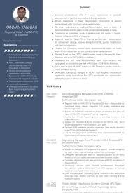 Engineering Manager Resume Samples Visualcv Resume Samples Database