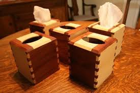 with a little woodworking knowledge and use of some basic items you can build a wonderful tissue box holder of your own you can easily build them in bulk