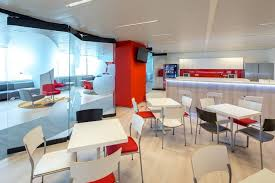office cafeteria design enchanting model paint. Office Cafeteria Design Enchanting Model Paint Stunning On Pertaining To DB Schenker Bucharest Interior 17 E