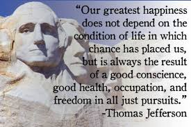 Thomas Jefferson Famous Quotes Inspiration Famous Happiness Quotes By Thomas Jefferson Golfian