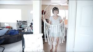 Where Are Dream Catchers From Giant Dream Catcher DIY Modern Room Decor under 100 YouTube 45