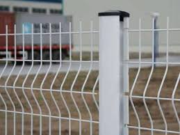 Metal Fence Posts Accessories Components of Welded Wire Fence