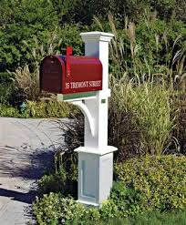 wood mailbox posts. Exellent Posts St Andrews Mailbox Post  Wood Posts Vinyl Posts From  Walpole Woodworkers Inside R